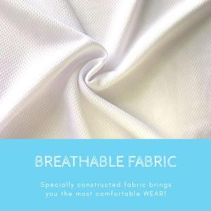 BOXY Microfiber Round Neck T-shirt - White