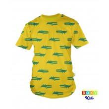 [BOXY] Kids Graphic Tee Clothing - Crocodile