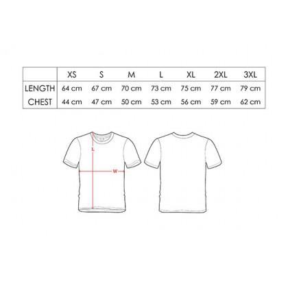 BOXY Premium Cotton Round Neck Plain T-shirt (Black)