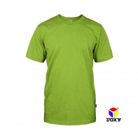 BOXY Microfiber Round Neck T-shirt - Apple Green