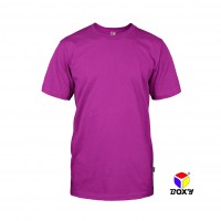 BOXY Microfiber Round Neck T-shirt - Purple