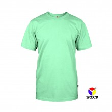 BOXY Microfiber Round Neck T-shirt - Cool Mint