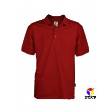 [BOXY]MICROFIBER CLASSIC POLO SHIRT - RED