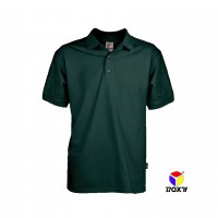 BOXY Microfiber Classic Polo Shirt  - Forest Green