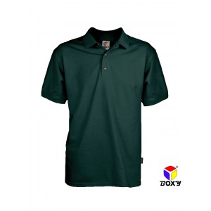 [BOXY]MICROFIBER CLASSIC POLO SHIRT - FOREST GREEN