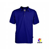 BOXY Microfiber Classic Polo Shirt - Royal