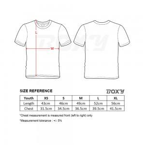BOXY Youth Microfiber Round Neck T-shirt - Royal Blue