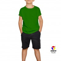 BOXY Youth Microfiber Round Neck T-shirt - Irish Green