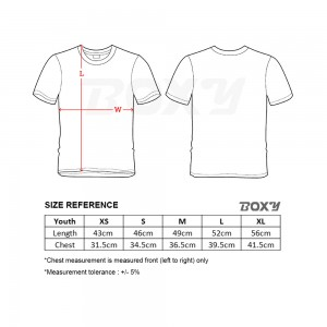 BOXY Youth Microfiber Round Neck T-shirt - Orange