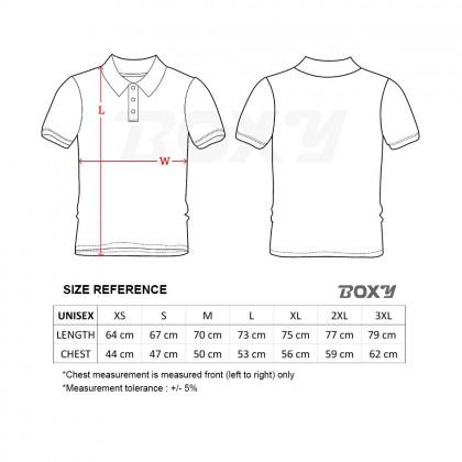 BOXY Microfiber Classic Short Sleeve Polo Shirts (White)