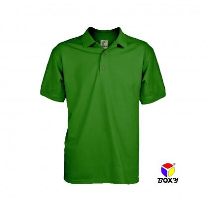 BOXY Microfiber Classic Short Sleeve Polo Shirts (Irish Green)