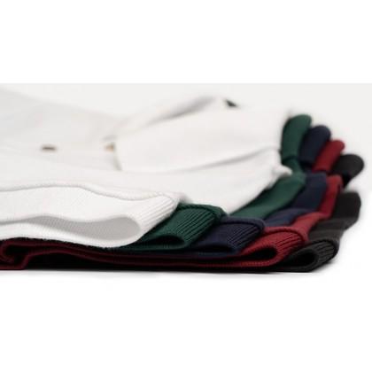 BOXY Cotton Classic Polo Shirts (Black)