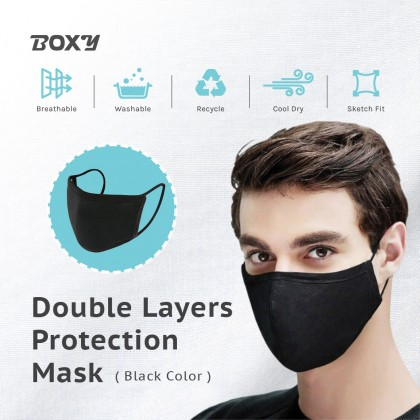 BOXY Cotton Reusable Face Mask