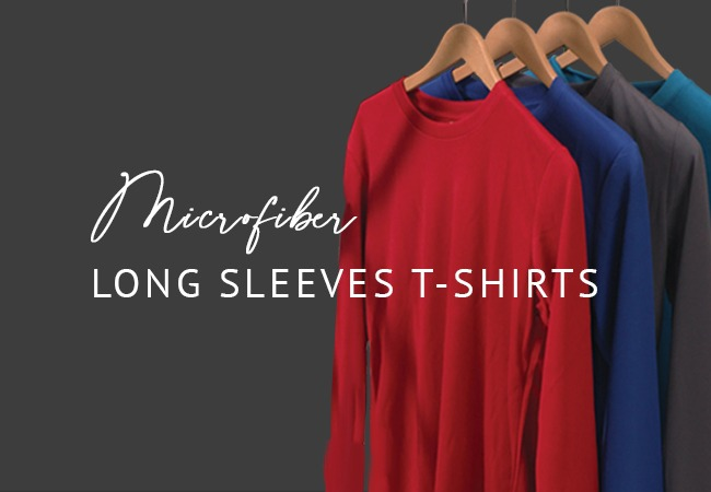 Long Sleeves T-shirts (Microfiber)